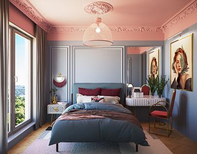 Actress's bedroom