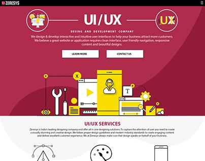 UI/UX DEVELOPMENT PAGE