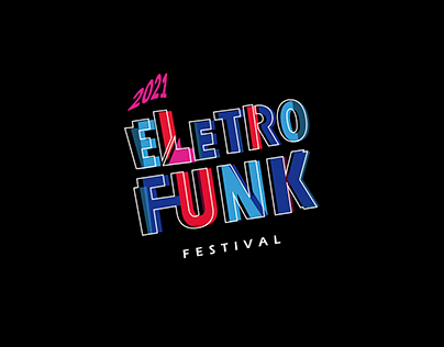 Eletro Funk Festival - Logo Design for Festival
