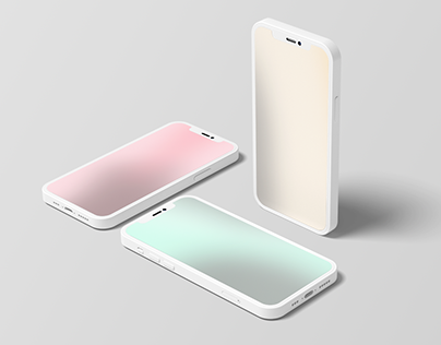 Muted Color Gradient Backgrounds