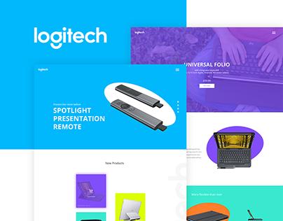 Logitech | Website Concept