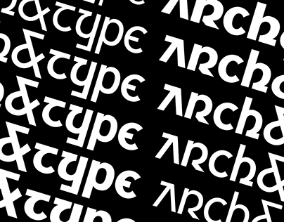 Archetype Variable (Free Variable Display Typeface)