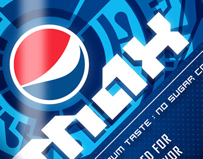 Beverage Label Branding - Pepsi Max Bottle Design