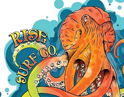 Rise Surf Octopus