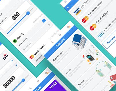 Bank&Pay - Free UI Kit