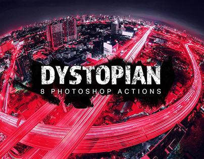 Dystopian Photoshop Actions
