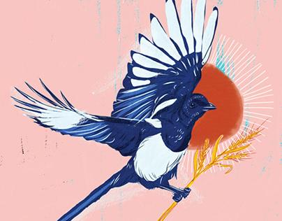 Beaky the Magpie