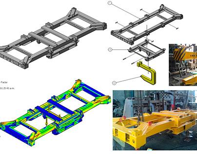 Mechanical Desing. Spreader 3D (Diseño, Dibujo)