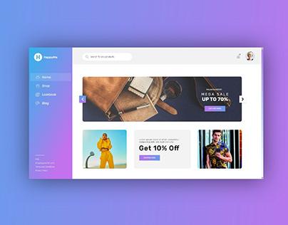 E-commerce UI/UX Concept