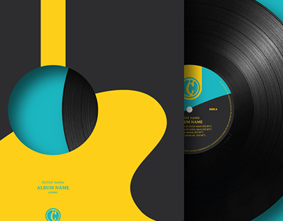 LH STRIKES RECORDS Logo & cover design.