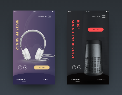 Mobile App Product Design