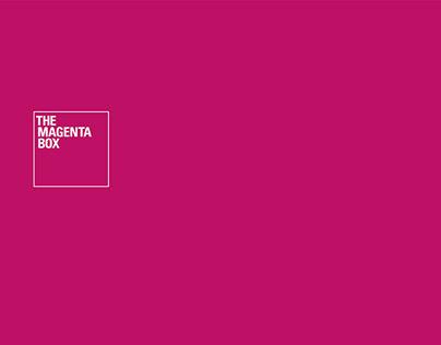 The Magenta Box brand identity
