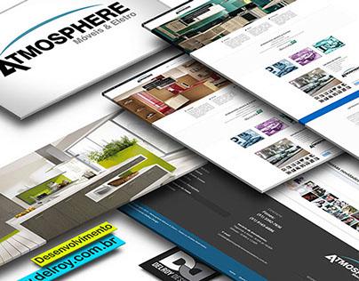 Atmosphere WebSite + Brand Identity