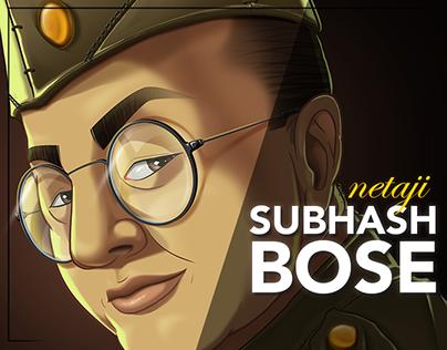 Netaji Subhash Bose Portrait