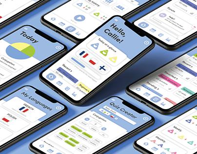 LiNGUA UX/UI Rebrand
