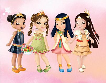 Princesses of the World – Children's Book