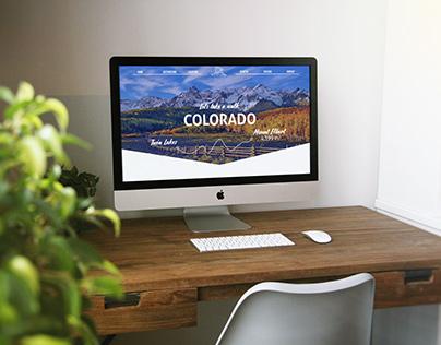 Colorado Walking Trip Website