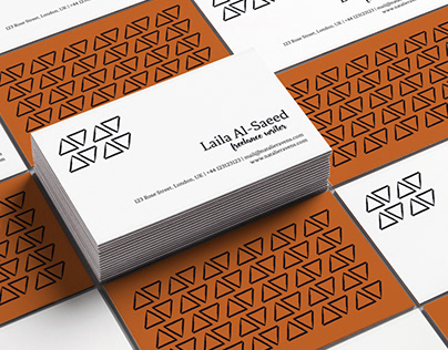 Laila Al-Saeed Business Card
