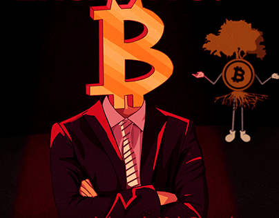 Meu Pé de Bitcoin - Ilustrações