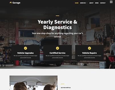 Vehicle Support Website Design