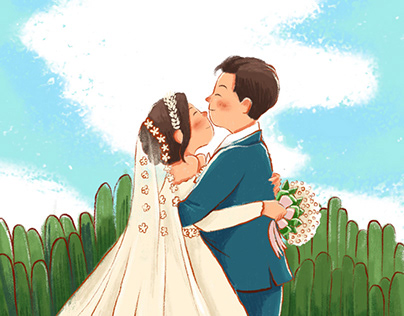 Wedding Avatar