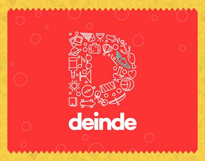 Deinde   Logo Design