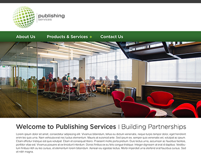 Publishing Services - UX, Design and Build