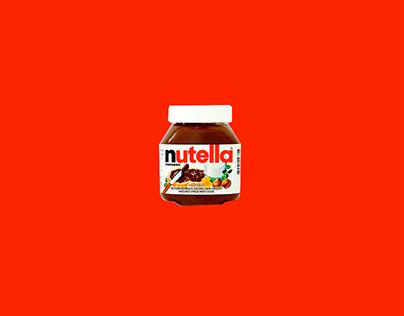 Nutella - Makes Everything Better - Grad Portfolio