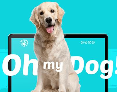 Oh my Dog! Website Design and Branding