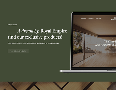Royal Empire Home Furniture Web & UI UX Design