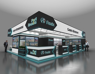 Port Bronka exhibition stand project