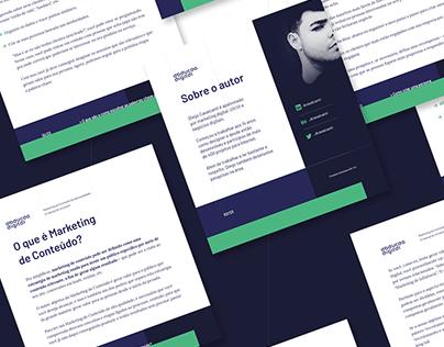 """2019 / E-book """"Marketing de Conteúdo"""""""