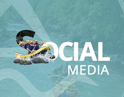 Tara raft - Social Media content