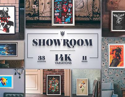 Showroom – Frame Mockups