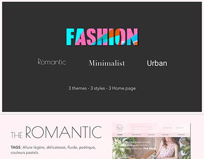 Fashion Design Home page