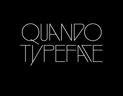 Quando Typeface