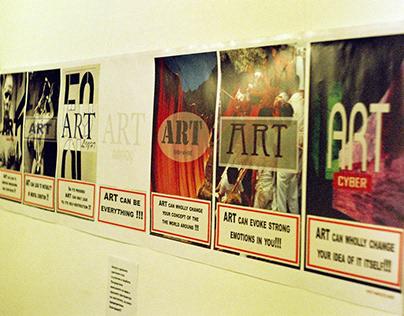 "Attention"""" - Installation Sfumato theater ,March 2003"