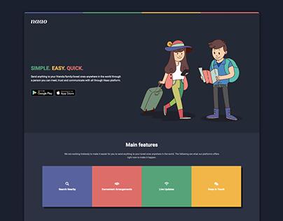 Naao Web Landing Page