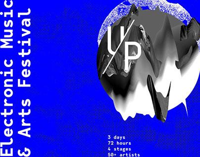 UP Electronic Music & Arts Festival 2018 / Identity