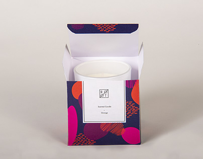 Boutique candle packaging