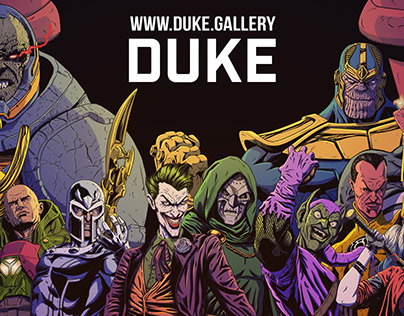 Duke Gallery Banner for Conventions