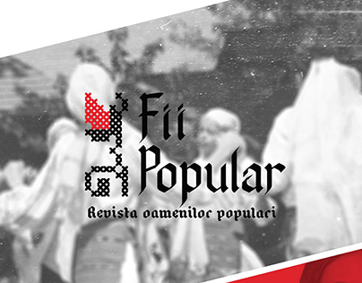 "Logo Design ""Fii Popular"""