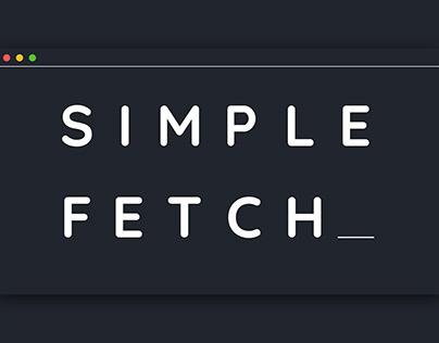 S-Fetch Logo