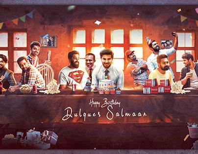 Dulquer Birthday Celebration Poster