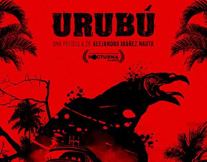 Campaña gráfica para la pélicula Urubú