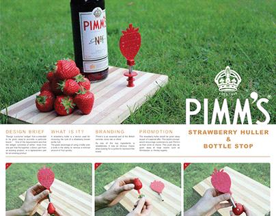 Pimm's Strawberry Huller