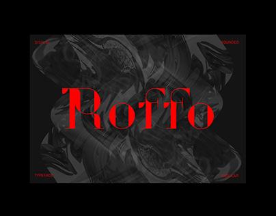 Roffo - Display Font