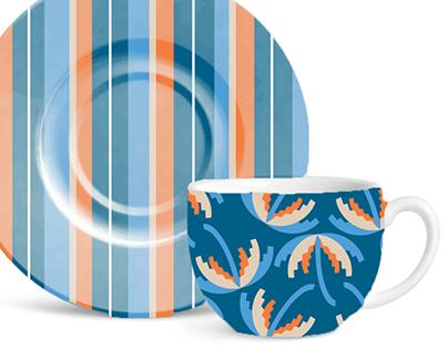 Patterns in objects.