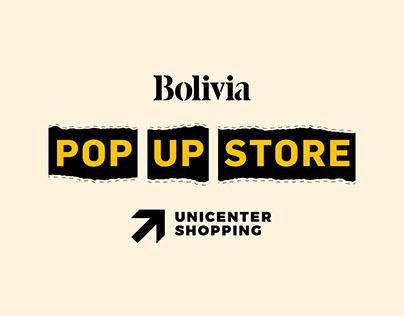 Bolivia - Pop Up Store