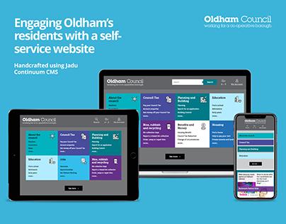 Oldham Council website